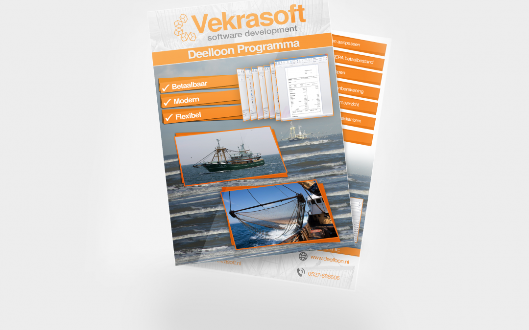 Softwarepakket Flyer Vekrasoft